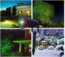 Laser light projector green and red lights garden decoration outdoor christmas laser light