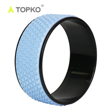 TOPKO New supply Comfortable for Stretching and Improving Backbends, <strong>12</strong> <strong>x</strong> 5 Inch Yoga Wheel