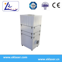 Hot Sale Small carbon Air Filter For Laser Engraving Cutting Machines Fumes Disposal