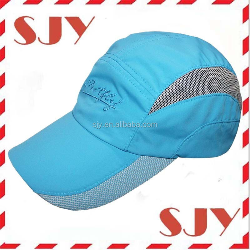 Lightweight Breathable Mesh Polyester Running Cap