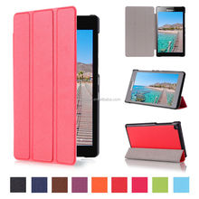 "Leather Shell Cover Case for Lenovo Tab2 A7-20F, 7"" Tablet Case"