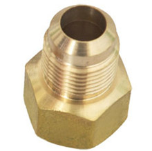 hex brass compression fitting for copper pipe