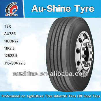 New all-steel radial truck tyre 295/80R22.5