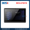 New coming 7 inch android tablet q8 a13