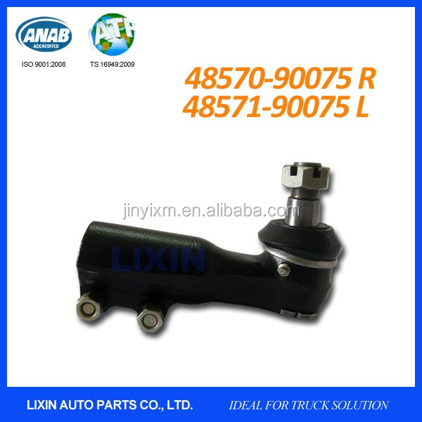 Universal tie rod end for truck, bus & car