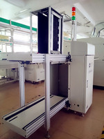 gsd-sl 400,pcb loading machine, full automatic pcb magazine loader in smt line