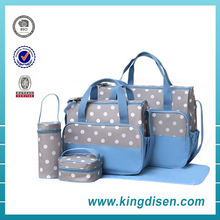 2017 Hot sale baby products cute polyester baby diaper bag for adult