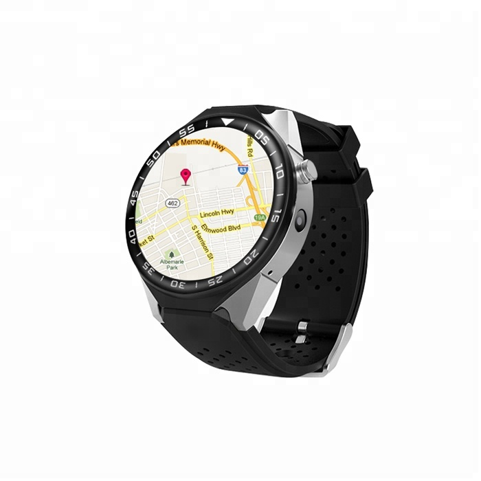 ODM OEM GPS 3G MTK6580 Bluetooth Smart Watch Android