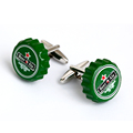 Novelty cufflinks Beer bottle design cufflink