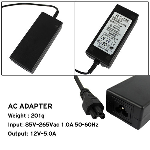 ImaxRC 15V-5A Power Adapter for rc hobby Balance Charger (Black),RC Repair Accessories