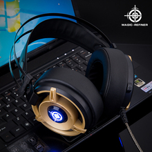 Merry Christmas Special supply Wired gaming headphone with mic For Laptop PC/Mac/PS4/iPad/iPod/Phones
