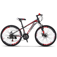 24inch 21speed double disc brake mountain bike bicycle wholesales
