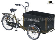 Holland style Three wheels nexus 3 speeds cargo tricycle/pedal tricycle /ice cream tricycle