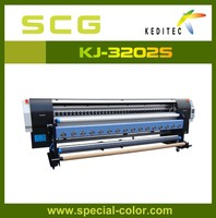 Eco Solvent 3.2M Printer With Epson DX5 Printheads