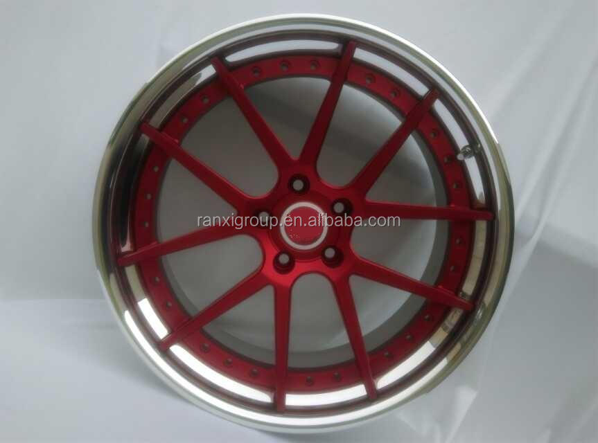 Aluminium Alloy car wheel rims 18 19 20 22 inch 5 holes Forged Wheel