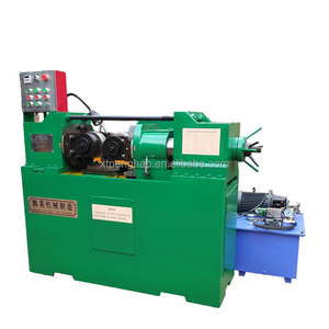 hydraulic nut bolt making machine / thread rolling machine with two shaft