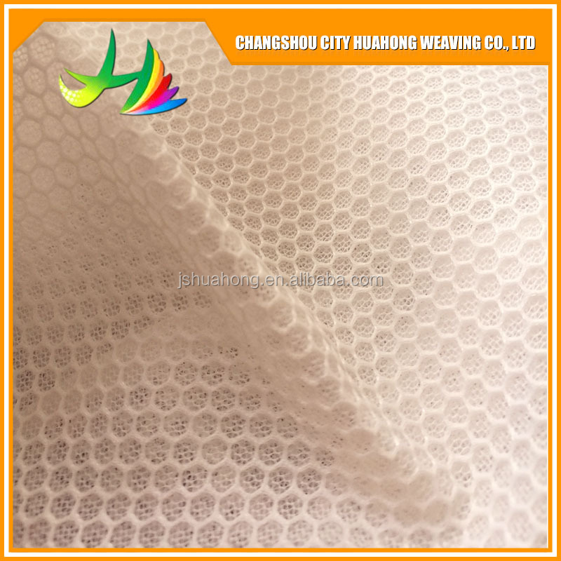 3D thick air layer, Air 3d Mesh Lace Fabric For Outdoor