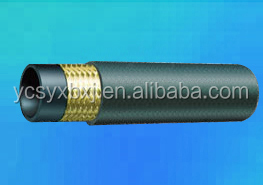 hydraulic rubber hose assembly of US system JIC internal thread 74 Internal conical surface connector