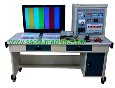 LCD Color TV Trainer Training Equipment Technical Skills Training Equipment Electrical Engineer Lab Laboratory Instrument