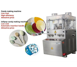 ZP420-ZPW13G Automatic mint candy making machine can make fruits lollipops
