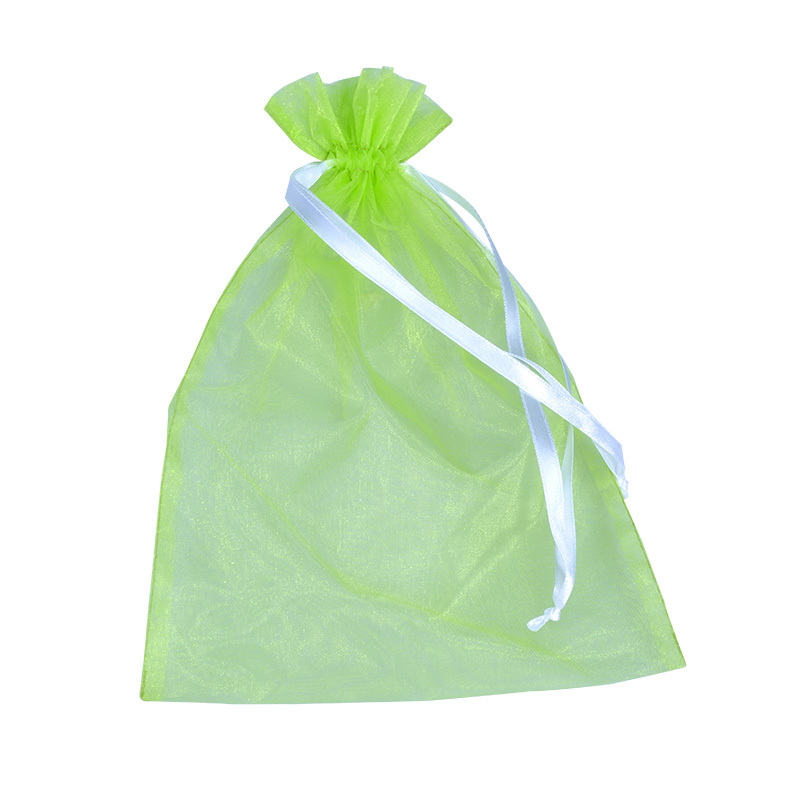 High Quality Custom Organza bag,organza pouch,large organza bag