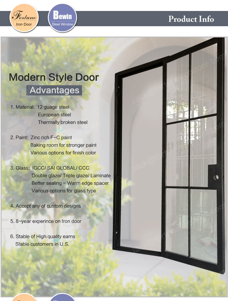 High End Steel Entry Doors With Competitive Price View
