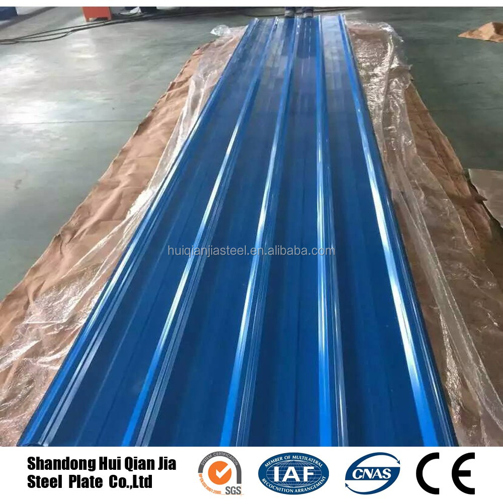 SGCC prepainted steel plate corrugated color coated metal roofing sheet