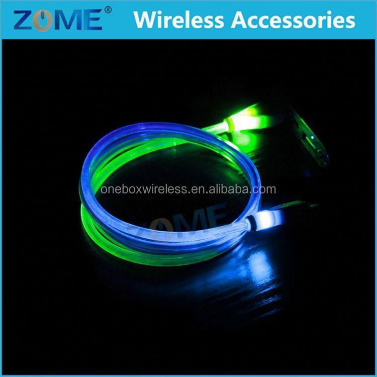 New Products 2016 Download Free Mobile Games LED Data Cable