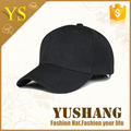 2016 hot popular custom 100% polyester baseball cap for promotion black, red