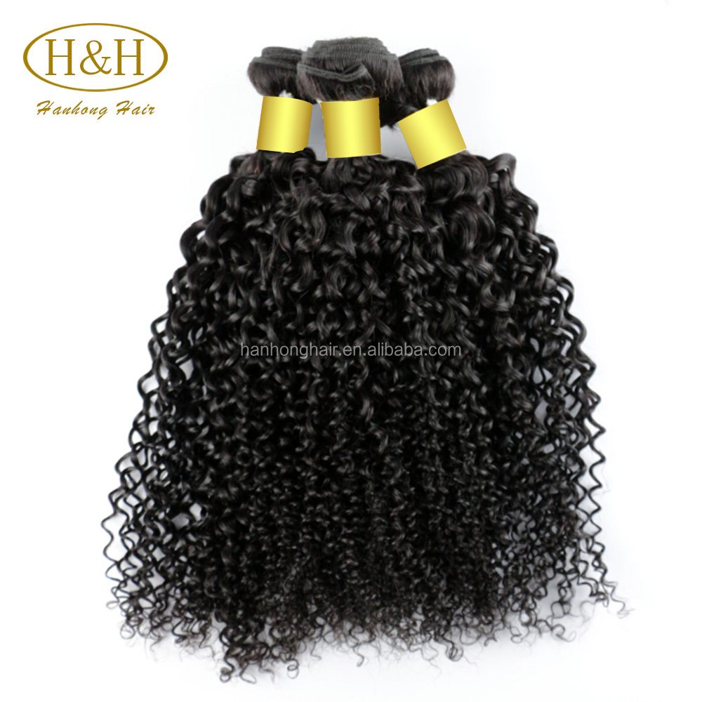 Wholesale remy virgin hair afro kinky curly hair weft, top quality7a 8a 9a 10a brazilian human hair weaving