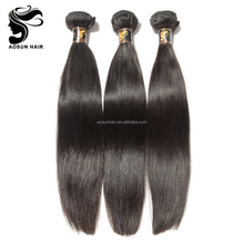 8A Top Quality Natural Unprocessed Hair Wavy Straight Peruvian Hair