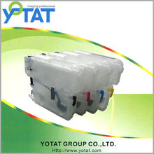 refillable ink cartridge compatible for Brother LC39/60/975/985 BK/C/M/Y for Brother DCP-J125