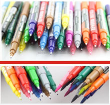 hot selling Water color pen with brush tip (brush marker pen )