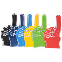 Eco-friendly Silk Print Custom Foam Gloves Hands