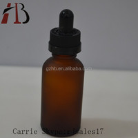 2015hot Customized 5ml 10ml 15ml amber small glass medicine bottles
