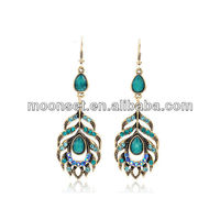2013 The Fashion Earring Designs in Gold Jhumka
