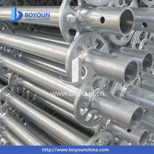 Building construction steel hot dipped galvanized cuplock scaffolding system