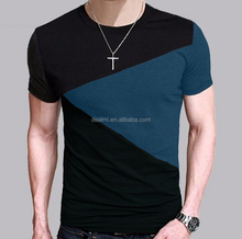 New design short sleeve T shirt increased relaxation O neck t shirt men