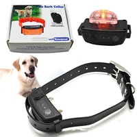 3.7V Waterproof Rechargeable,Control 2 dogs wrap on neck beeper collar