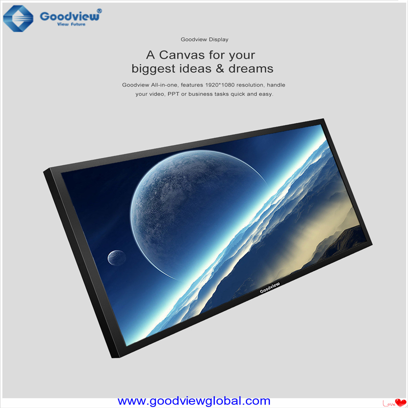 large touch screen computer