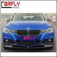 2012-2014 Carbon Fiber Front Bumper Lip for BMW F30 3-Series M-Performance Body kits