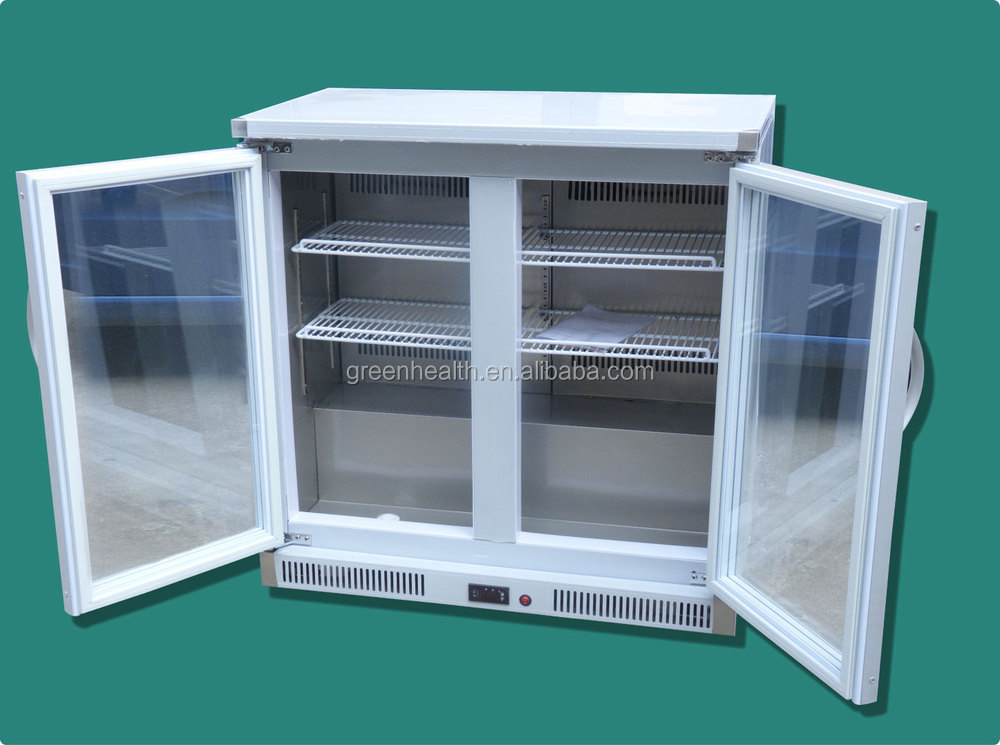 Double glass door pepsi cooler factory