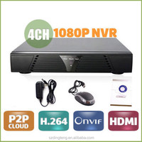4 Channel 1080P HDMI cctv camera kit Network Video Recorder IP NVR 4CH security systems ONVIF H.264 For IPC