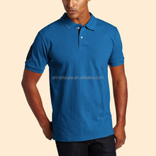 blue men polo shirts 2013 fashion custom 100% cotton hot sale newest design Custom Design short sleeve white polo shirt