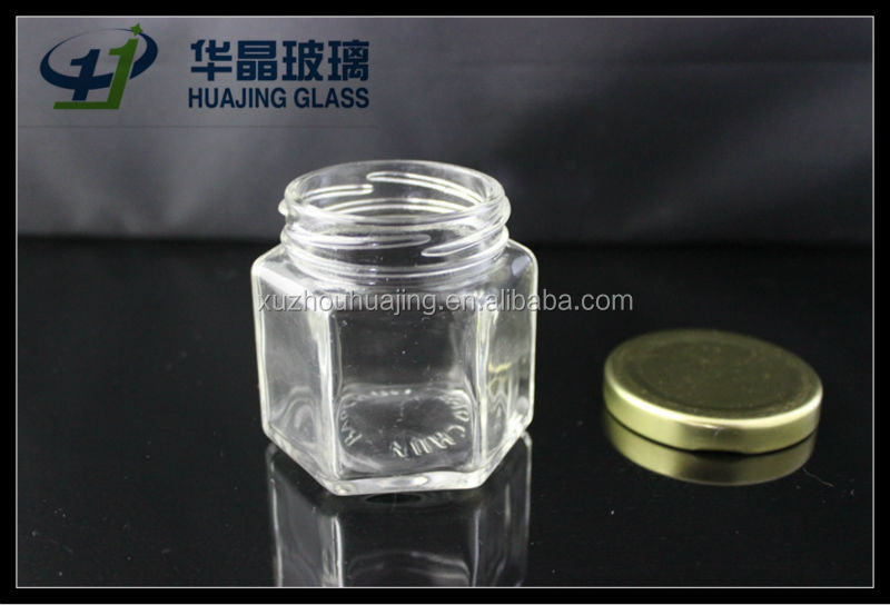 130ml clear empty airtight glass container with screw cap for jam honey pickle wholesale