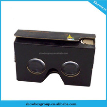 Google Cardboard Virtual reality 3d glasses easy assembling