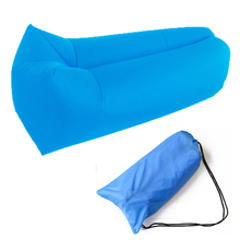 best selling summer sleeping bag sofa camping multicolor hangout banana lazy bag inflatable air lounger