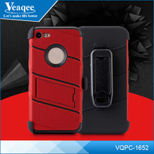 Veaqee new style 3 in 1 mobile case,robot hard phone case,pc tpu phone case for iphone x 8 plus
