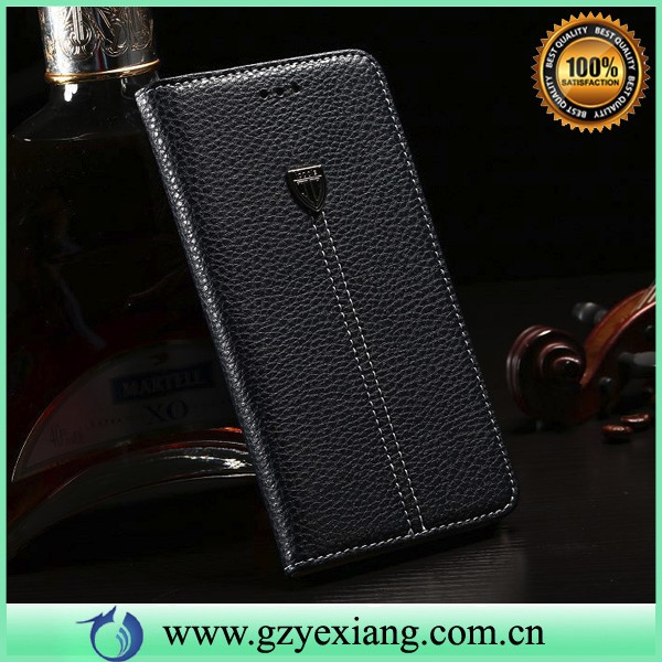 invisible magnet tablet leather case for lenovo a3500-hv flip cover