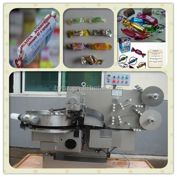 YB-800 twist wrapping machines for candy/ confectionery/ lollipop